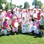 Sun Lakes Lady Niners participated in the Rally for a Cure Golf Tournament