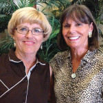 Kathy Burns and Anne Hughes - Champions of the 2014 Ladies Choice, 4-Ball Match Play Championship