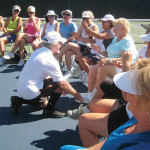 Sixteen Cinderellas met their Prince Charmings at the second Summer of Love Pickleball mixer on May 3!