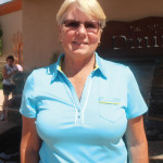 Colleen Mitchell made a hole in one on April 15, 2014.