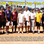 The 2013-2014 Top Ten Hitters (photo by Core Photography, LLC).