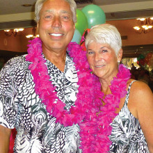 Savvy Travelers Founder Thom Tschetter and his bride, Sue Widman