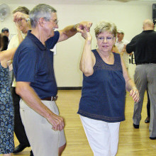 John and Jean Hart twirl away!
