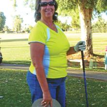 Rachelle Wilson scored a hole-in-one on June 15!