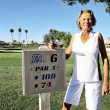 Dolly Schaedel had a hole-in-one on Hole No. 6 on May 13, 2014. Congratulations Dolly!