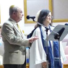 Rabbi Weiner and Cantor Ronda Polesky