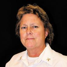 Retiring Battalion Chief Cheryl Van Horn