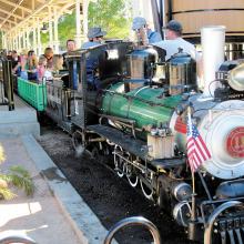 Ride the train at the annual Rail Fair at McCormick/Stillman Railroad Park!