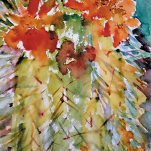 Take a watercolor class with Alice Van Oerstraeten!