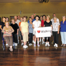 Join the I Love Walking Group!