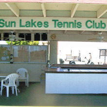 Come join the Sun Lakes Country Club Tennis Club!