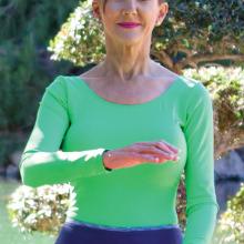 Take a Tai Chi class with Kim to help relieve stress!
