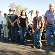 Come ride with the Sun Lakes Motorcycle Club!