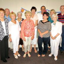 Several members of Cheers celebrated birthdays on September 21.