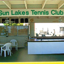 Join the Sun Lakes Tennis Club!