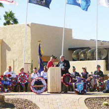Sun Lakes celebrates Veteran's Day!