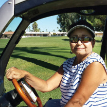 Jacque Lingle is back enjoying the game of golf after a kidney transplant.