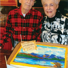 Jim and Marge Garrison – still going strong after 50 years together!