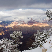Canyon Winter by Lyn Thompson