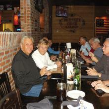 Club members enjoyed dinner on November 20 at Whiskey Rose.