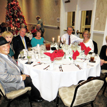 Cheers members celebrated the holiday season with the 60 Plus Club on December 3!
