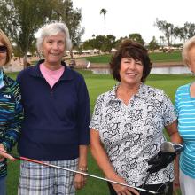 CLGA members get back in the swing!