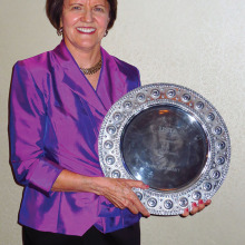 Anne Guerrant's 2014 induction into the USTA Hall of Fame.