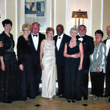 New Cotillion members pictured left to right are Peter and Paula Gazzola, Kathy David and Ray Konkol, Julie Mills and Ralph Richardson, Linda and Wendell Harris, Cheri and Tom Zosel and Harvey and Carol Knudsen; not shown are Bob and Betty Raveret, Al and Sheila Stout, Barry Tomisch and Gail Nelson and Mike and Jackie Richey