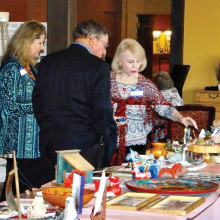 The Scandinavian Club will celebrate its heritage on February 15; many members and guests displayed their treasures at last year's heritage dinner!