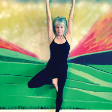 Join Sheila Axtman for Vinyasa yoga!