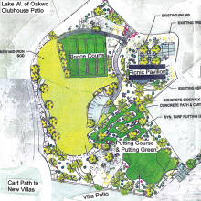 The proposed park plan