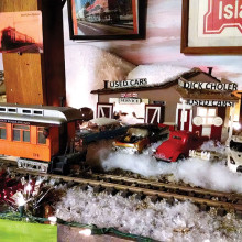 Make some time on March 28 and 29 to visit the Short Line Railroad and ABTO Railroad Clubs' home tour!