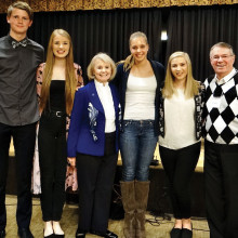 Students from Norway, Iceland and Finland were guests of the Scandinavian Club in January.