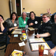 "Team ""No Clue"" from Cottonwood: Brook Jones, Sandy Casale, Ralph Casale, Annelle Newcomb, Cody Newcomb and Chris Newcomb."