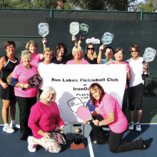 The winning women's' EVIL team