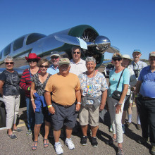 A wonderful Arizona day at the Cactus Fly-in!