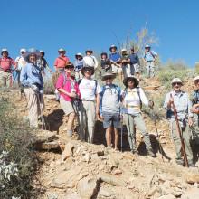 Members of the Sun Lakes Hiking Club strike a pose!