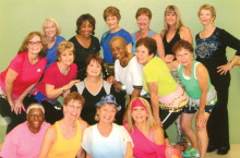 Join these lovely ladies at a Zumba class!