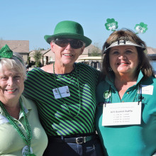 Leprechauns Sharon Gale, Bonnie Tasch, Carol Pontek