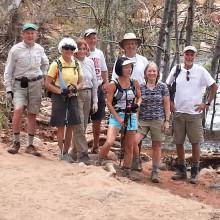 Sun Lakes Hiking Club on special hike near Flagstaff