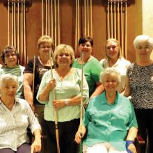 Join the Iron Oaks Ladies Billiard Club!