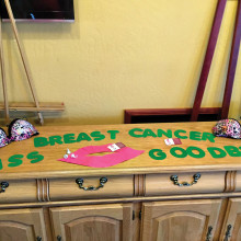 The Sun Lakes Ladies Pitch N' Putt Golf League raised $500 for the fight against breast cancer.
