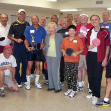 Sun Lakes and Ahwatukee table tennis players