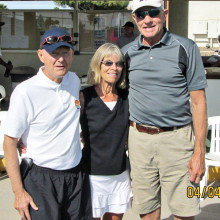 Winners of the Sun Lakes Tennis Club's Remembrance Tournament