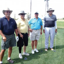 Players enjoyed the Beat the Pro challenge on May 7.
