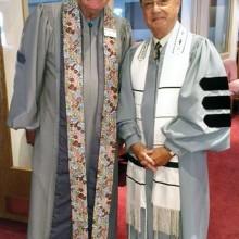 Reverend Jim O'Neal and Rabbi Irwin Wiener