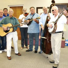 The Dry Heat Pickers recently entertained the seniors at The Perfect Place.