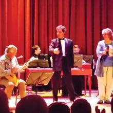 Savvy Travelers Nick Bog and Sara McFar performing in Russia