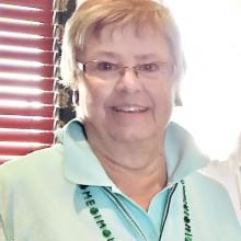Oakwood Lady Niners President Julie Schneider welcomes all members.