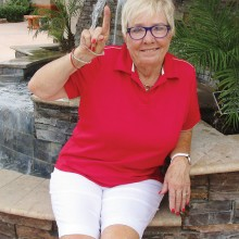 Rita Benfer had her first hole in one on May 12, 2015 on hole number 4 at Palo Verde. She used a number 6 Hybrid for a distance of 98 yards.